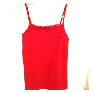 The Limited Camisole Red